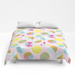 Goldielocks Gold Spots  Comforters