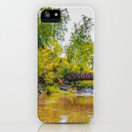 Gooseberry Falls State Park, Minnesota 4 iPhone Case