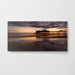 Cromer - First light Metal Print