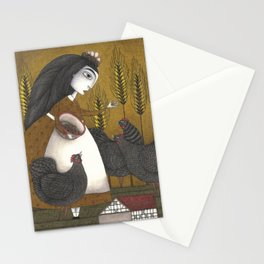 Ira's Hens Stationery Cards