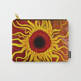 Psychedelic Susan 001, Sunflowers Carry-All Pouch