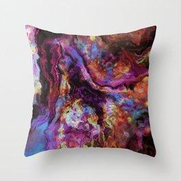 unique marble b Throw Pillow