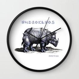 Rinoceros Wall Clock