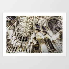 Cathedral Architecture Art Art Print