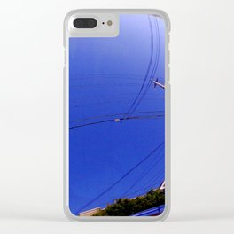 The Fish-Eye Sky, Grounded  Clear iPhone Case