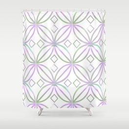 Floral Pattern - JUSTART (c) Shower Curtain