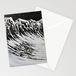 Starlit Cliffs Stationery Cards