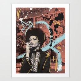 Kathleen Cleaver Art Print