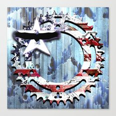 blue steel USA Canvas Print