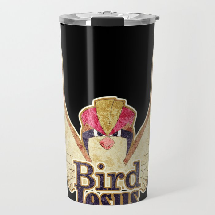 Bird Jesus Travel Mug