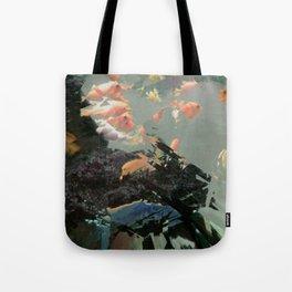 aquaglitch Tote Bag