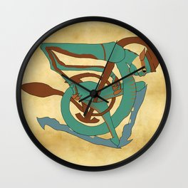 Celtic Hobyah Wall Clock