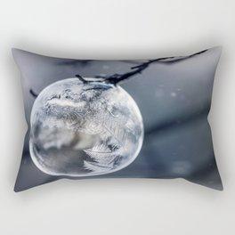 When the world freezes Rectangular Pillow
