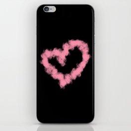 LOVE IN SMOKE iPhone Skin