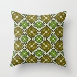 Never Ending Pattern Throw Pillow
