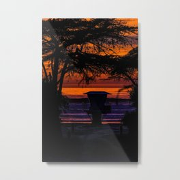 Tower 16 Sunset Metal Print
