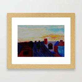 Heaton Framed Art Print