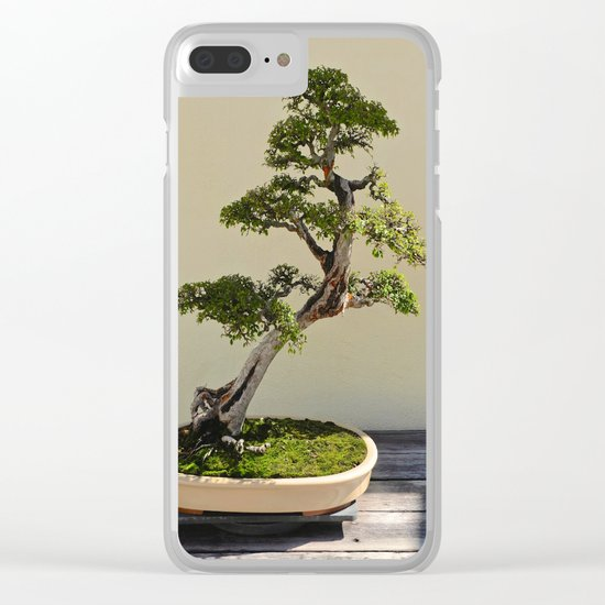 Bonsai Bonanza Clear iPhone Case