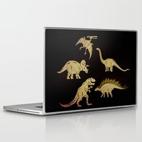 dinosaurs Laptop & iPad Skins featuring Dinosaurs by chobopop