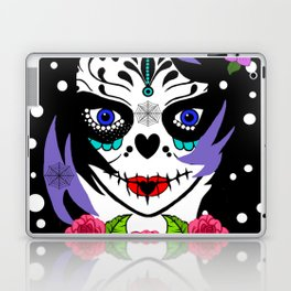 EMO SUGAR SKULL Laptop & iPad Skin