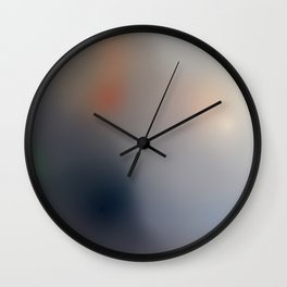 Machines of the Present Consume the Imaginations of the Past (The Son of Man, Rene Magritte) Wall Clock