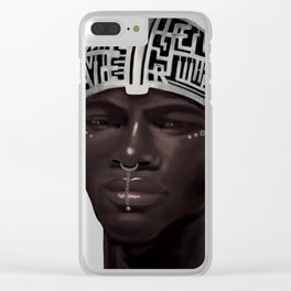The Silent Brother Clear iPhone Case