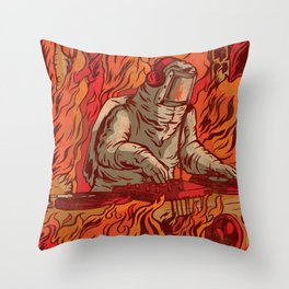 It's Lit Throw Pillow