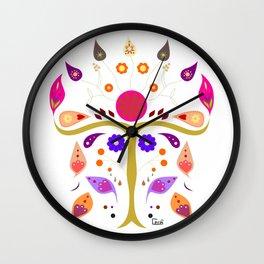 Folk spirit Wall Clock