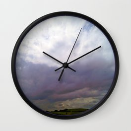 Beyond the Blue Wall Clock