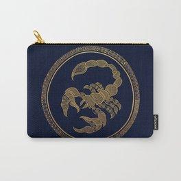 Golden Zodiac Series - Scorpio Carry-All Pouch