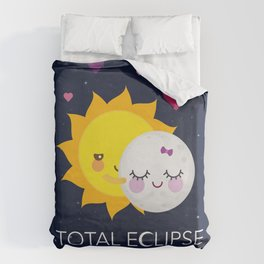 Total eclipse of my heart Duvet Cover