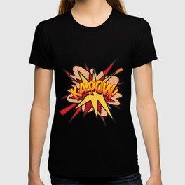 KA-POW Comic Book Flash Pop Art Cool Graphic T-shirt