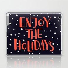 Enjoy The Holidays Laptop & iPad Skin