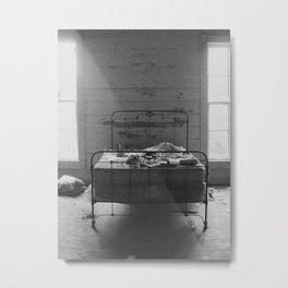 Between the Light Metal Print