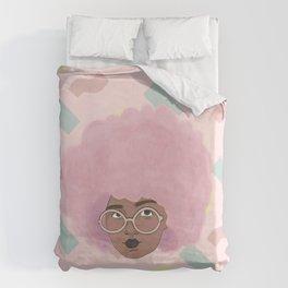 Bubblegum Girl Duvet Cover