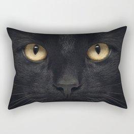 Staring Rectangular Pillow