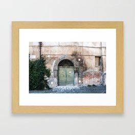 Door number eleven Framed Art Print