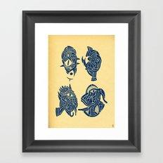 - miniatures - Framed Art Print