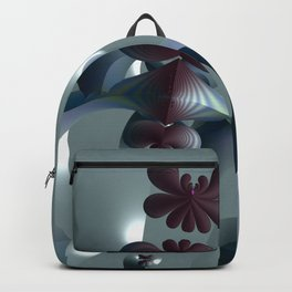 Life sprouting in the silence of an abstract fantasy Backpack