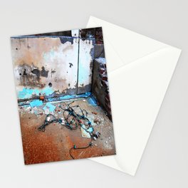 Discarded Stationery Cards