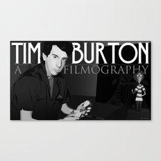 Tim Burton Young Canvas Print