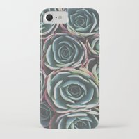 succulents iPhone & iPod Cases featuring SUCCULENTS by The Pixel Gypsy