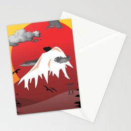 Monte Fuji Stationery Cards