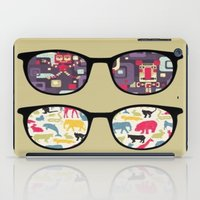 old school iPad Cases featuring Old School  by Lyre Aloise