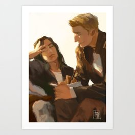 Stucky, Warm Afternoon Art Print