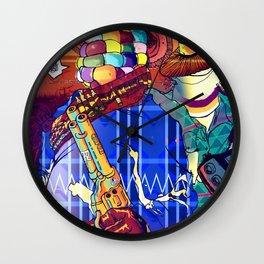 Choclo y Salcedo en el oeste Wall Clock
