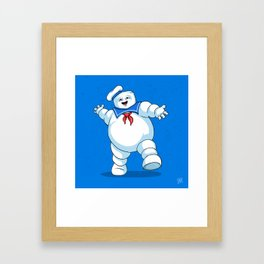 Stay Puft Marshmallow Man Framed Art Print