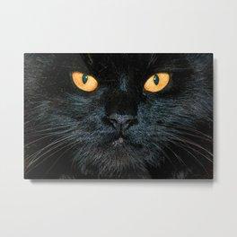 BLACK MAGIC Metal Print