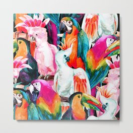 Exotic birdlife Metal Print