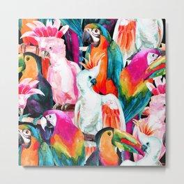Exotic birdlife Metal Print